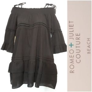 Romeo Juliet Couture Beach Off Shoulder Cover Up